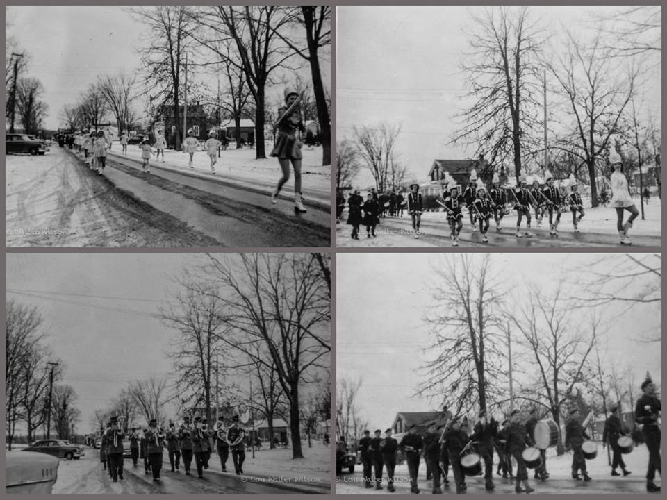Parade on Bursthall Street 1957