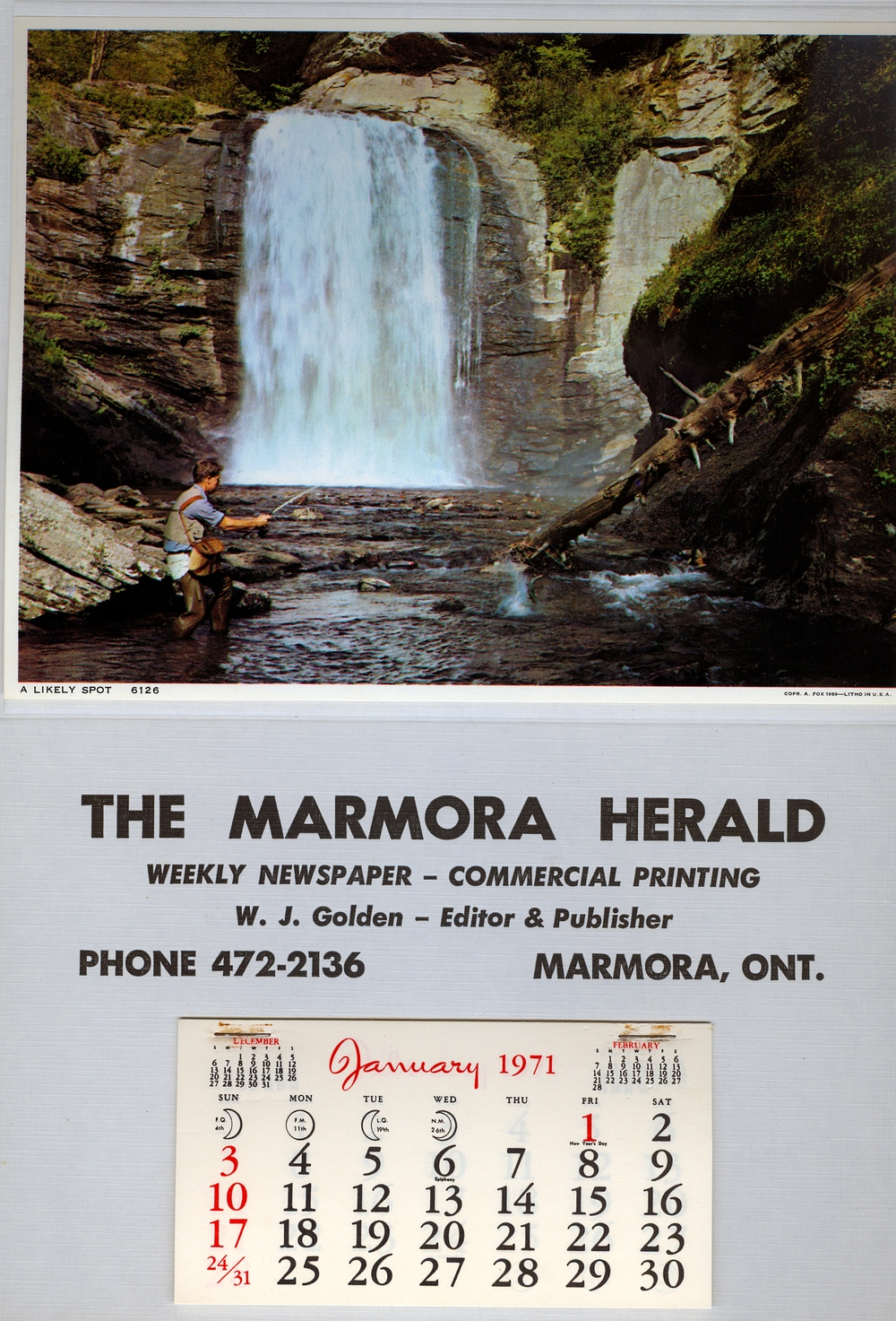 1971,  Marmora Business,  Marmora Herald.jpg