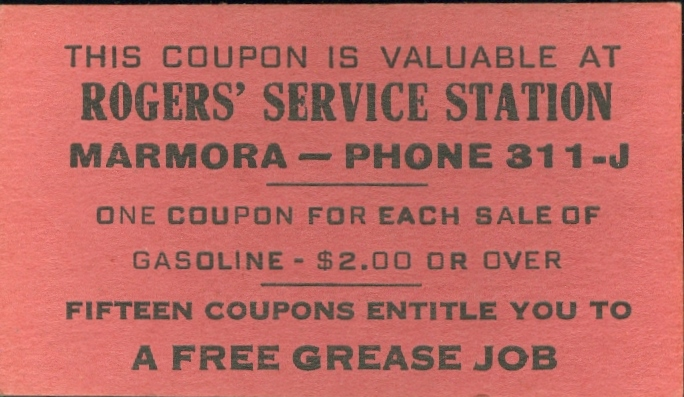 Roger's Service Station Coupon.jpg
