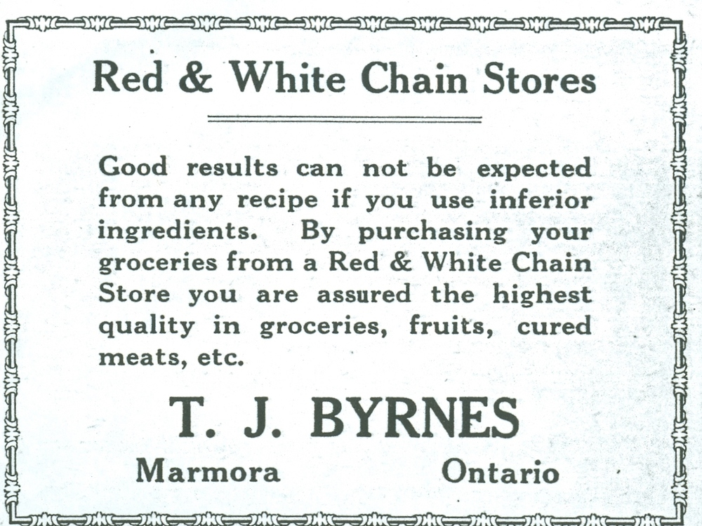 T.J. Byrnes, Red & White chain store.jpg