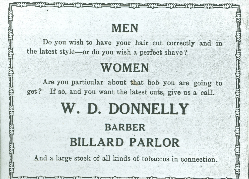 W.D. Donnelly Barber and Billiards.jpg