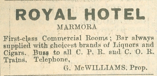 G. McWilliams, Royal Hotel.jpg