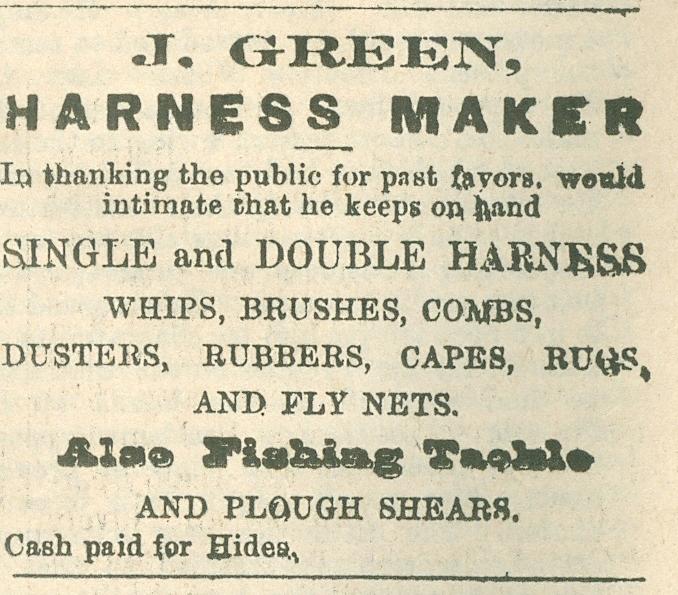 J. Green, Harness maker.jpg