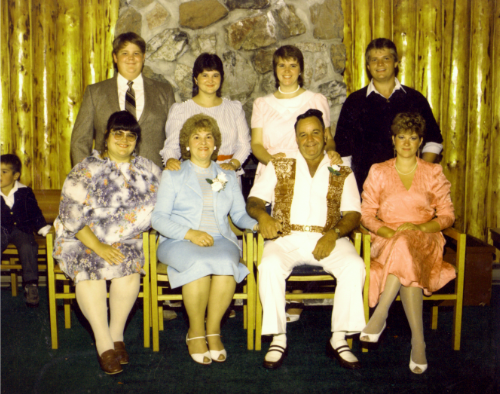 Fernand Provost & family