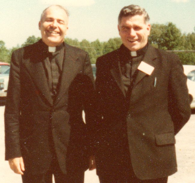 1977  Father Gerald Scanlon and Father Edward Keyes