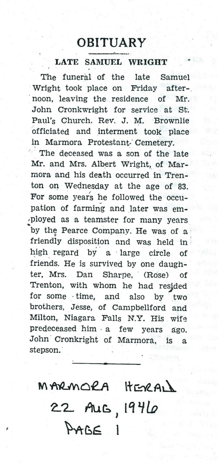 Wright, Samuel,  obituary.jpg