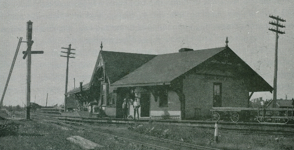 bONARLAW sTATION, KNOWN AS cENTRAL oNTARIO jUNCTION 1910
