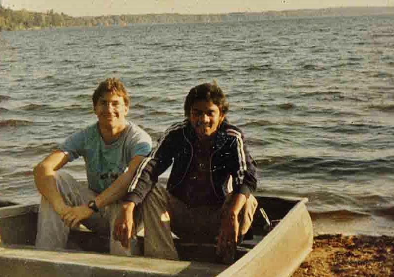 Paul Toffoli and Kusum