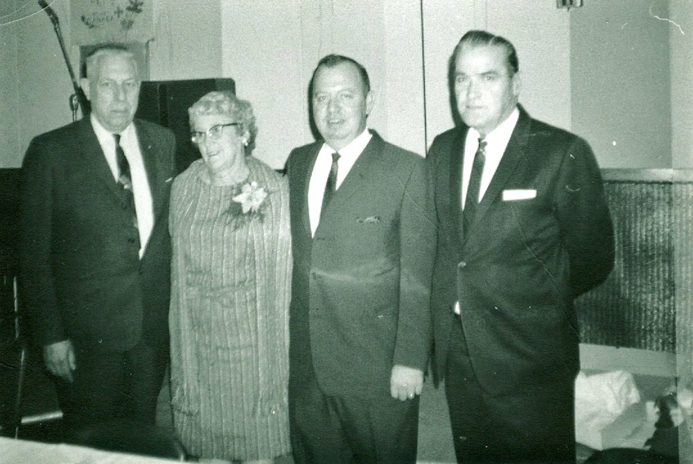 Ralph Neal,  Mariam Savage,  Bob Maynes and William Shannon