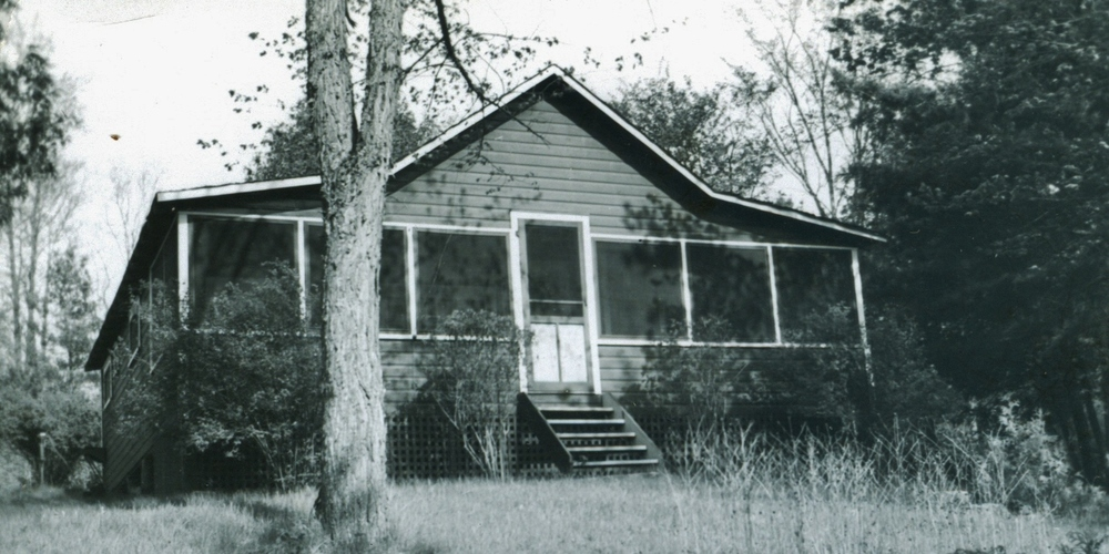 Barlow cottage 1954