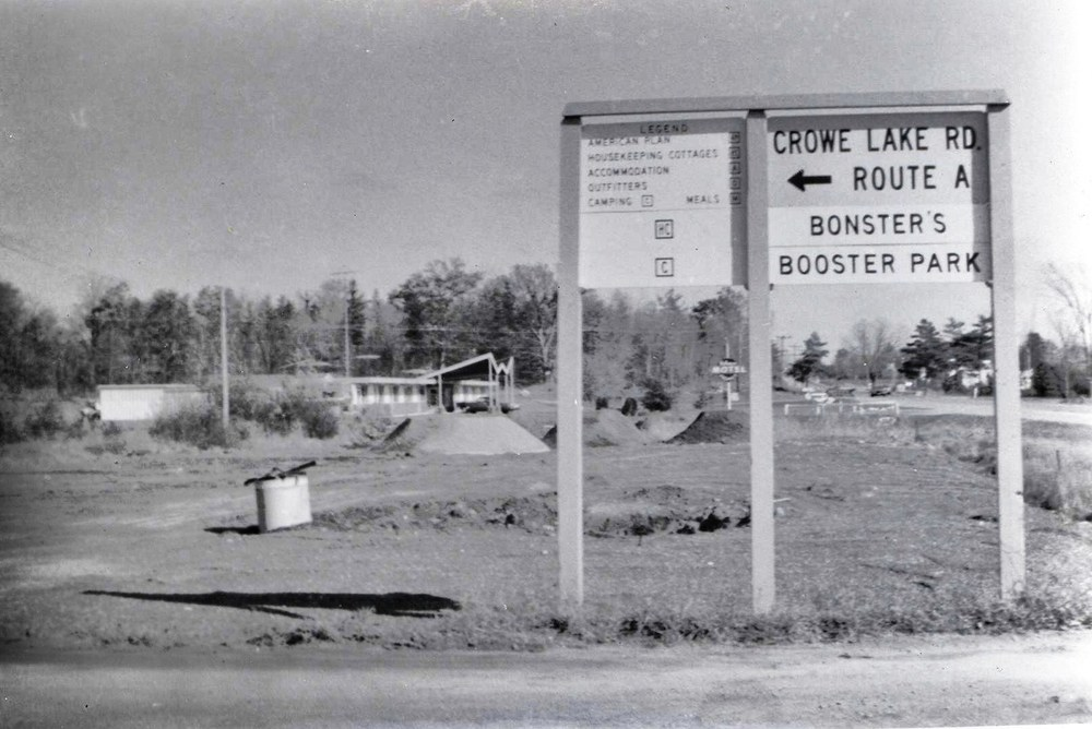 Crowe Lake Route A  to Booster Park - Bonter mispelled