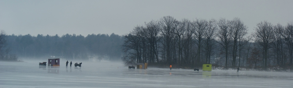 ICE FISHING ON BLAIRTON BAY