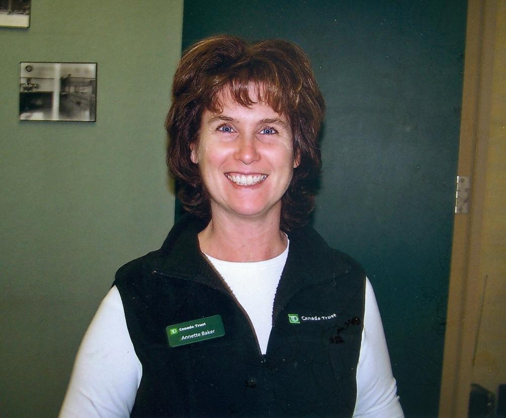 Manager Annette Baker