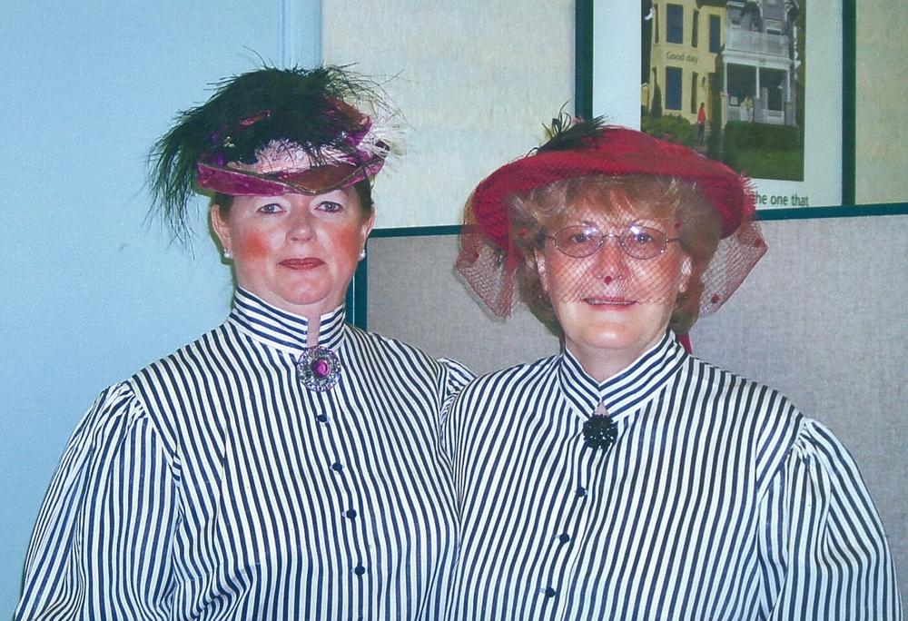 Bonnie Devolin and Cheryle Leonard