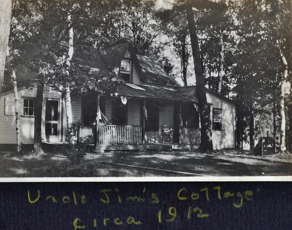 Crowe lake Jim Parker's Cottage circa 1912