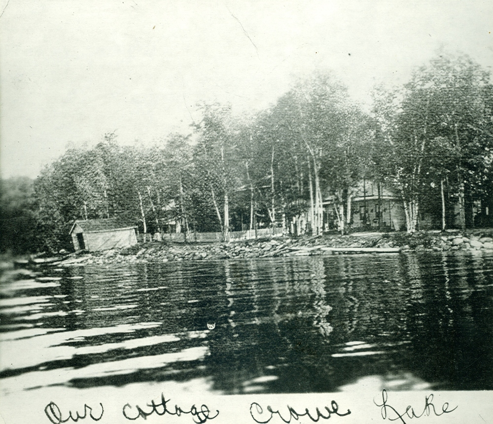 Crowe Lake,  Marble Point Rd.  Cottage of Joe & Rita Murray