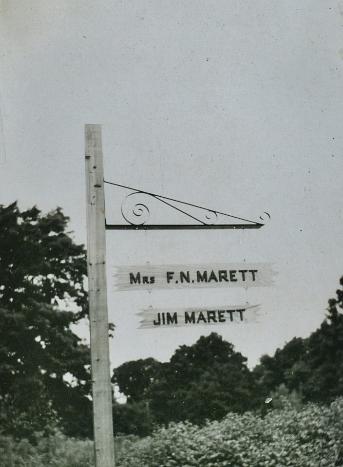 F.N. Marett, Jim Marett, Crowe Lake
