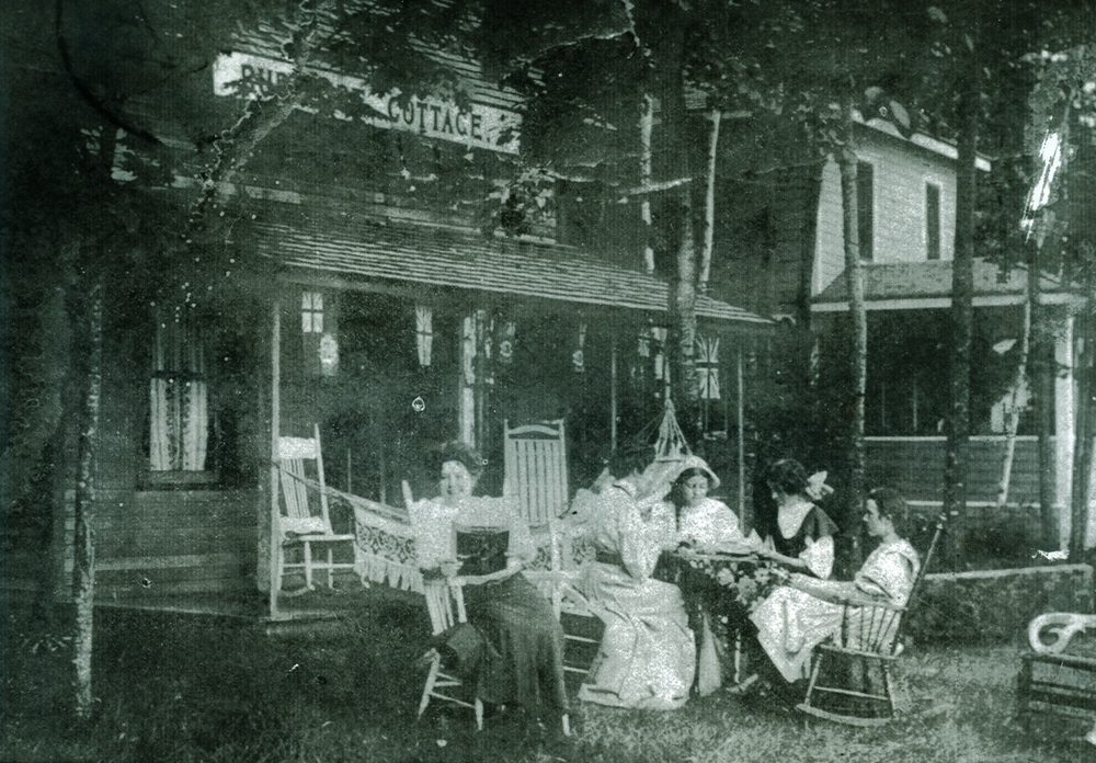 O'Neill Cottage,  Marble POint Road,  Crowe Lake, Marmora  C.1908