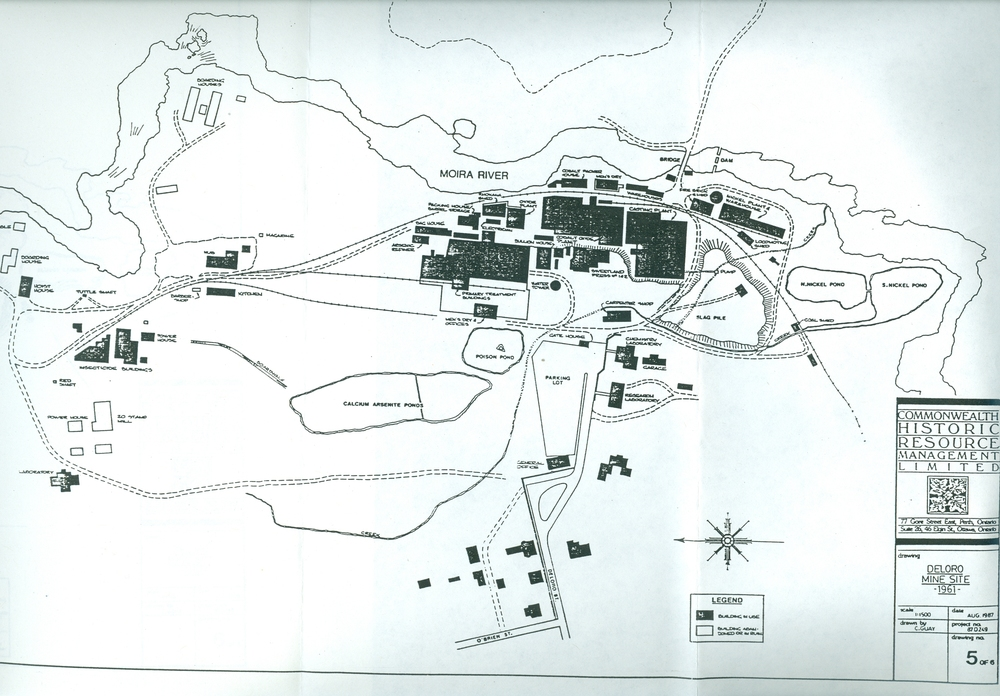 Map of Deloro site 1961.jpg