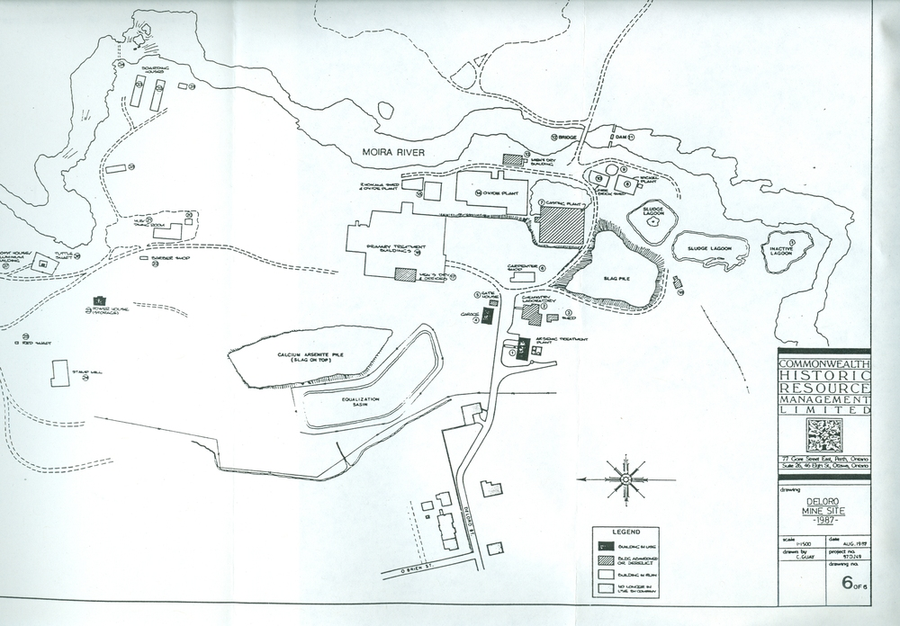 Map of Deloro site 1987.jpg