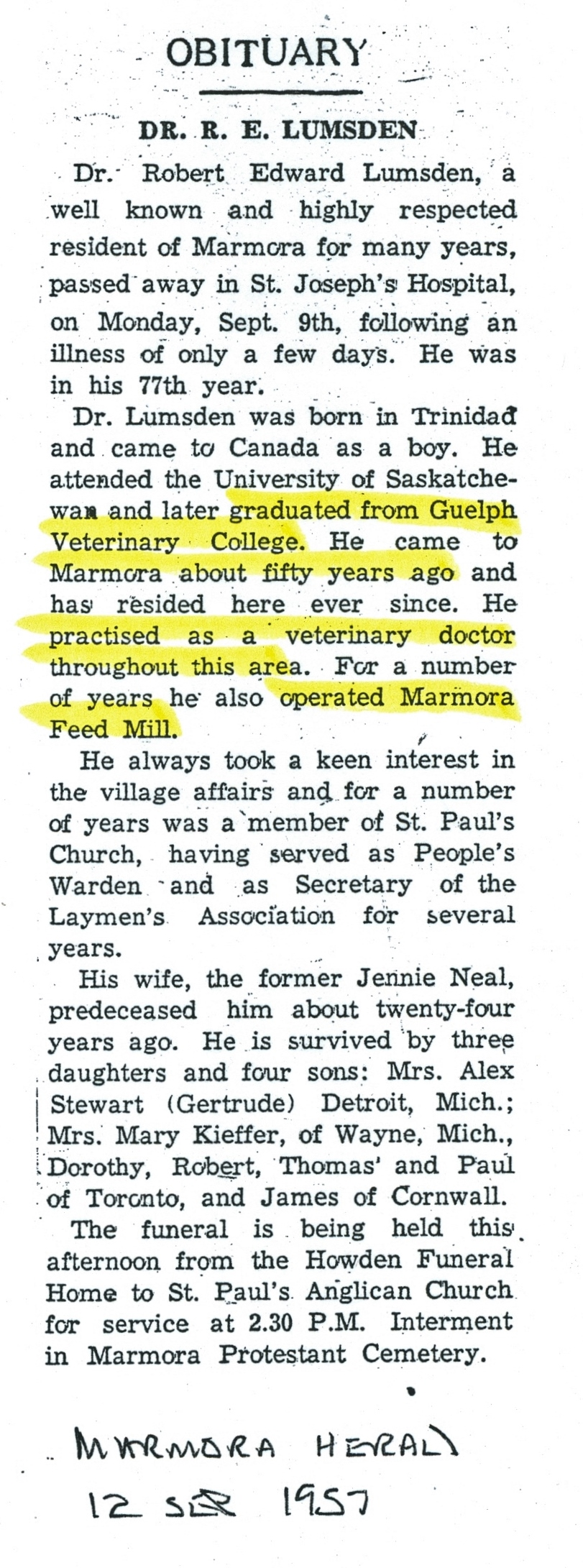marmor herald Sept 12, 1957
