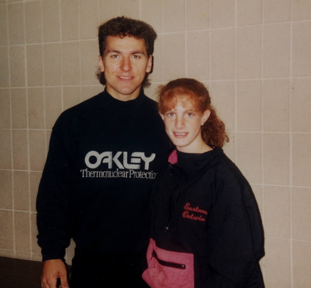 1994 Stefanie Partridge with Elvis Stojco,  Barrie