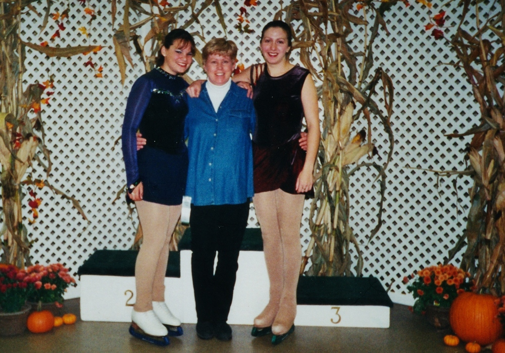 2000 Kate Lowe,  Coach Nancy, Johanna Fischer