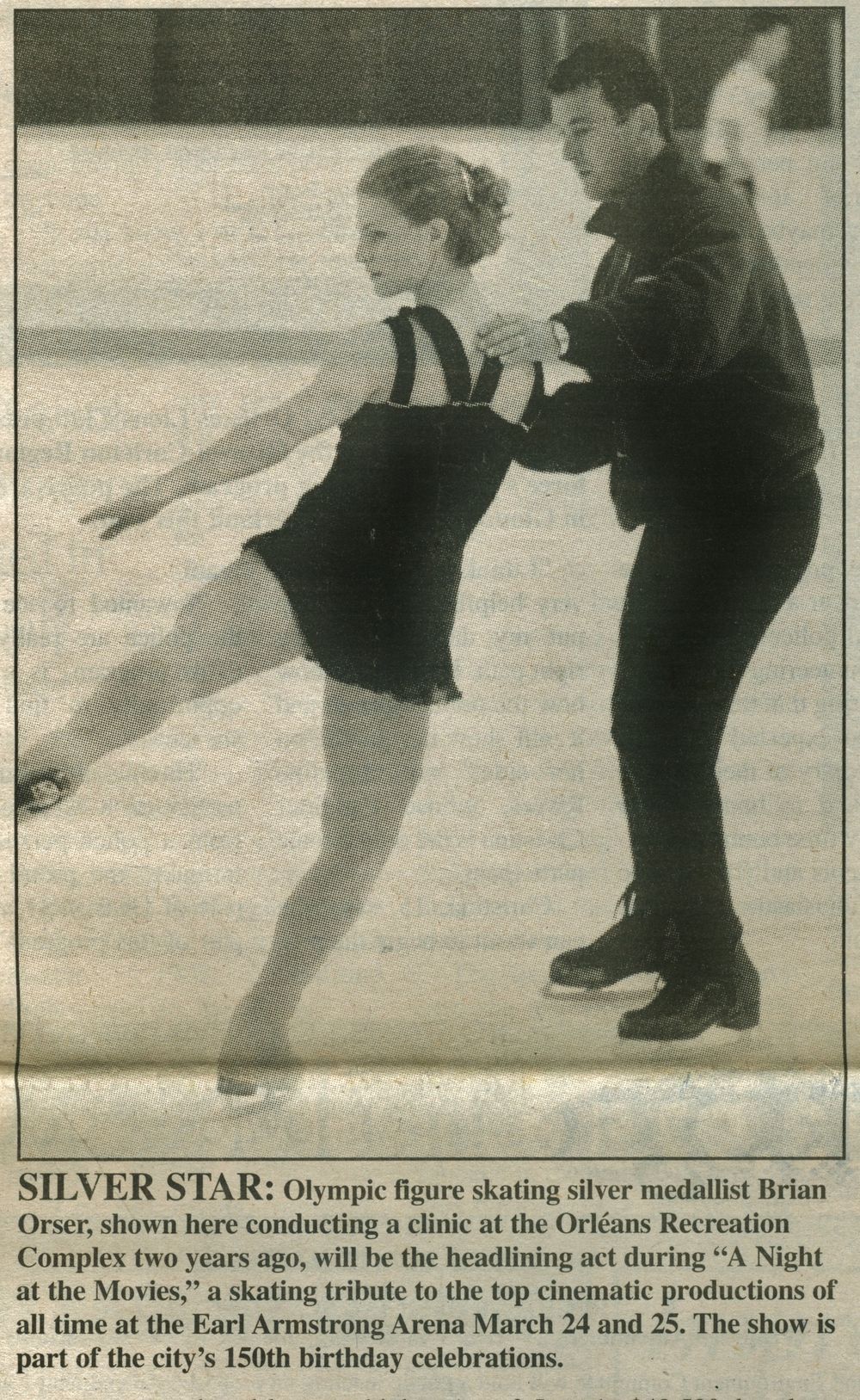 Stefanie Partridge and Brian Orser Feb. 12, 2000