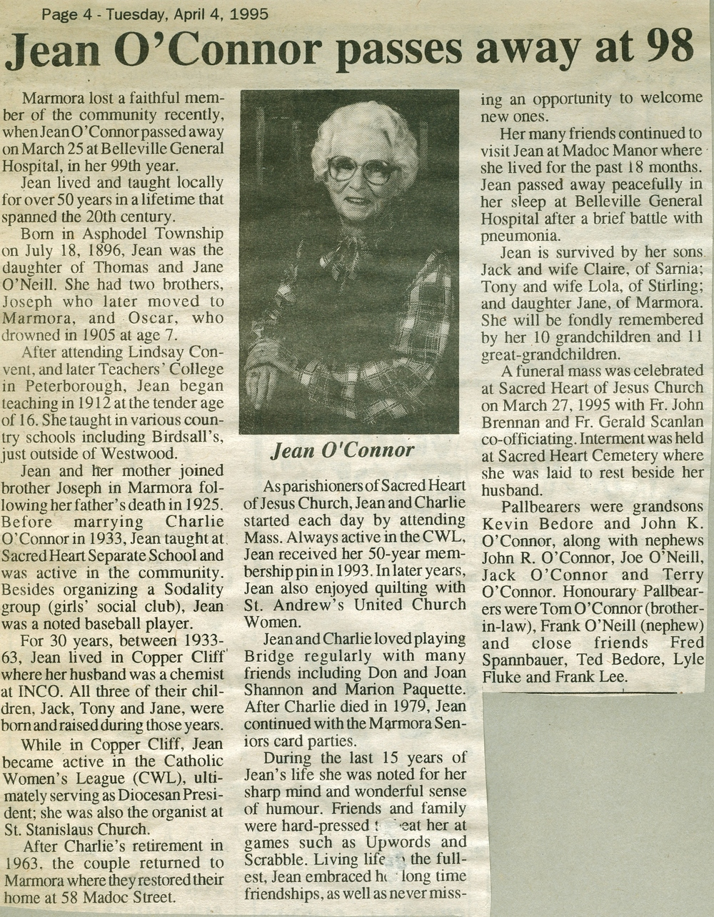 O'Connor, Jean Obit  1995.jpg