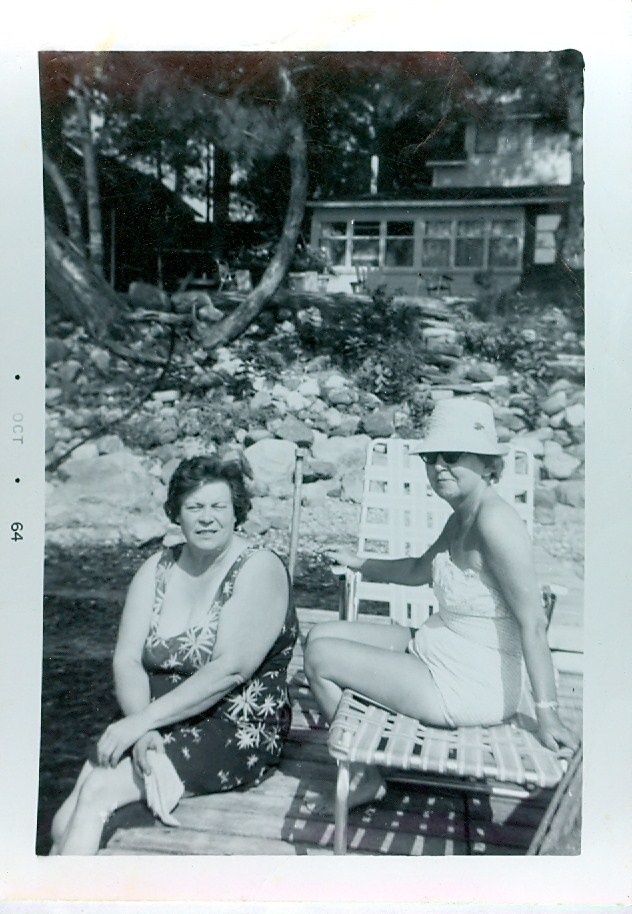 Marion Ketcheson & Ilean O'Neill 1964