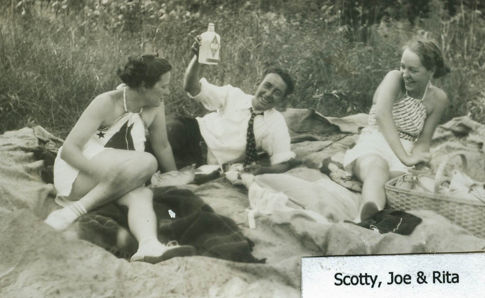 Scotty,  Joe & Rita,  Crowe Lake,  Marmora