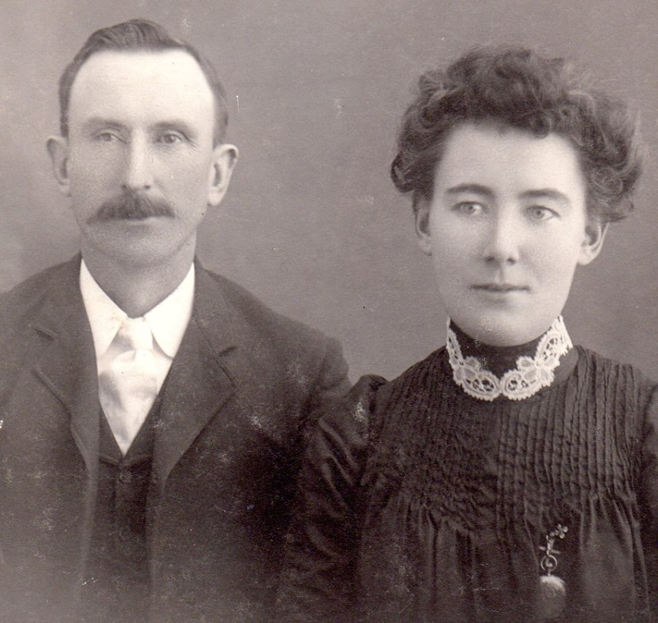 John Murray (1862-1942) and Catherine McGrath Murray (1872-1949) Parents of Joe Murray