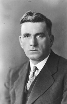 Robert Weir M.P.,  Minister of Agriculture and former Marmora Public School teacher, attends Marmora fair 1934
