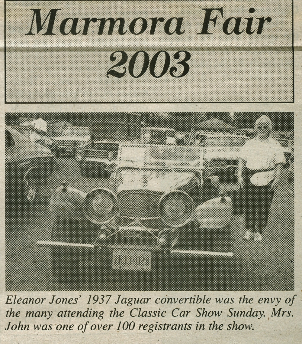 Marmora Fair 2003, Eleanor Jones.jpg