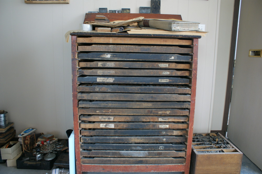 Chandler & Price Printing Press font drawer.JPG