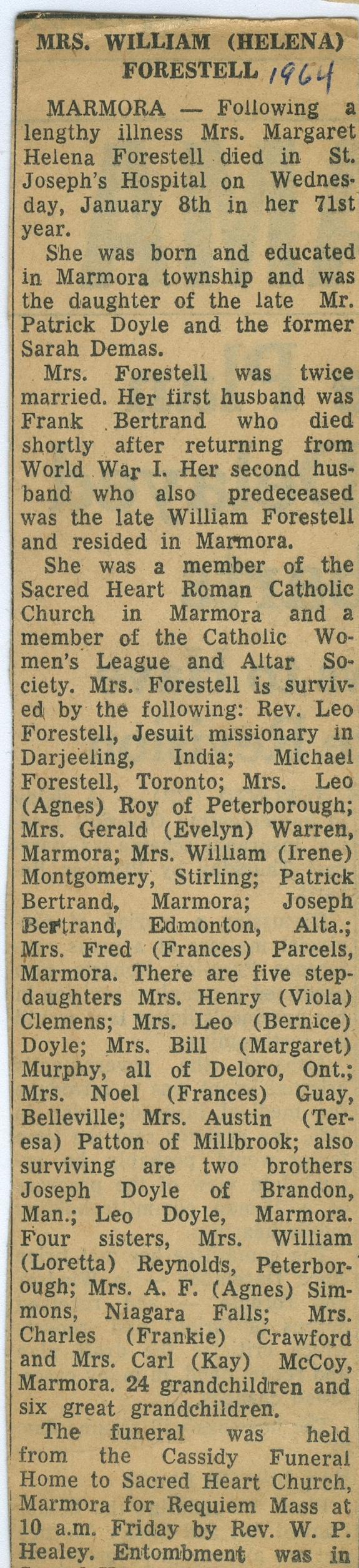 Forestell, Margaret Helena Doyle Bertrand - 1893- 1964.jpg
