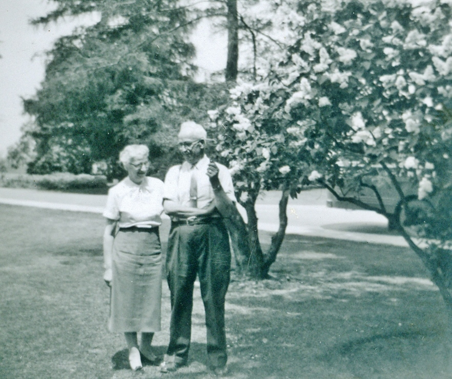 Mr. & Mrs. Prentice in later years