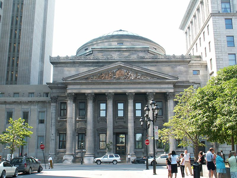 Bank of Montreal's first branch