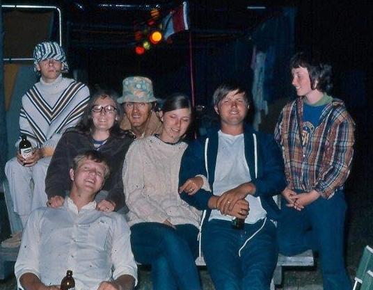 Joanne, Cheryl Leonard, John Bedore, Connie, Bob McCoy, Sue McGregor, Vaughan Glover