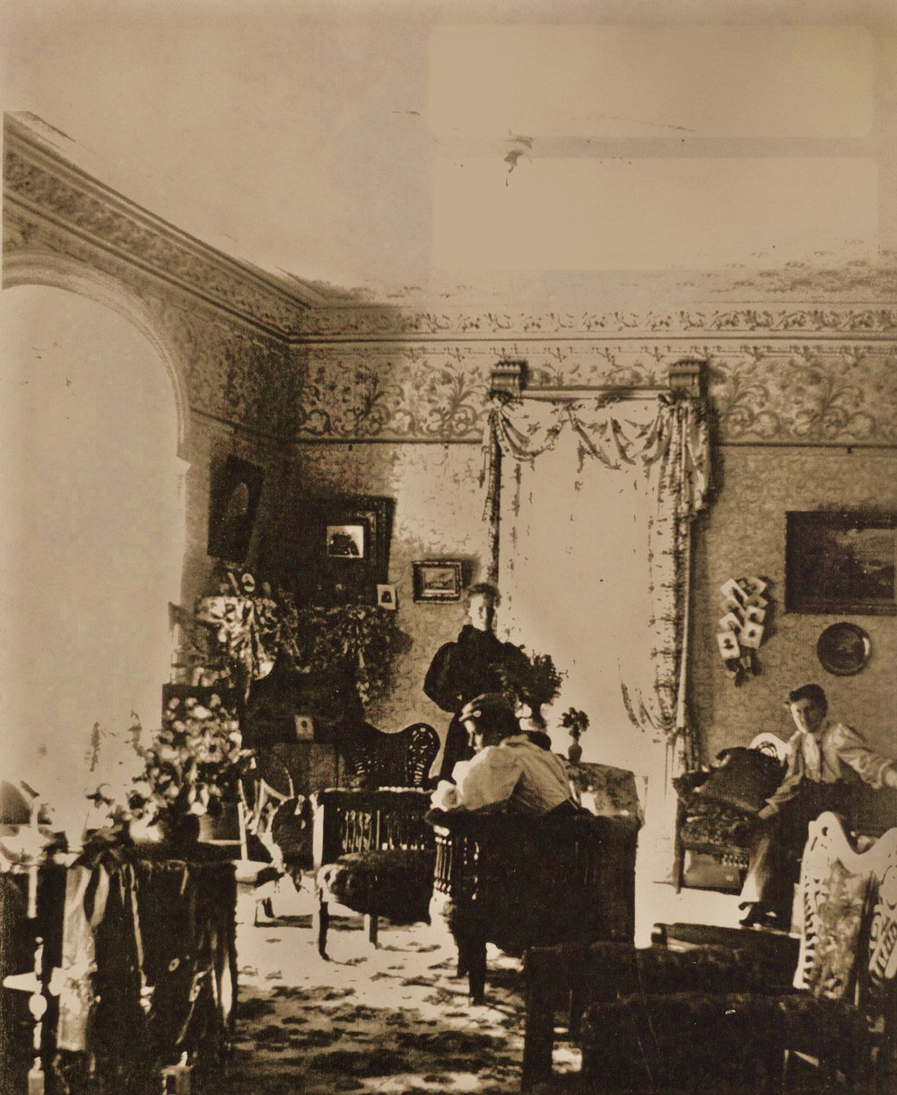 Drawing room Ousemore house 1896