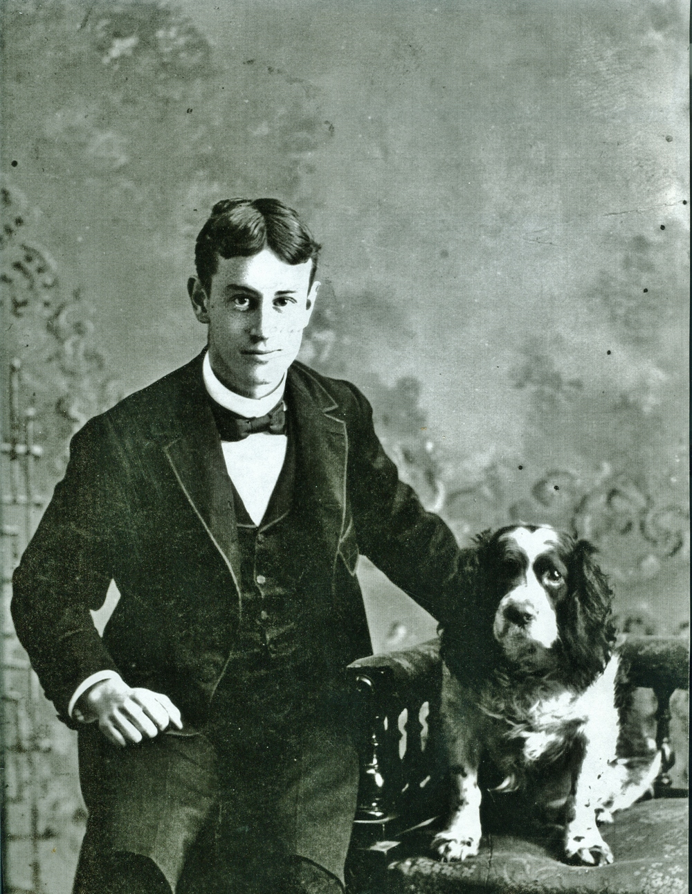 Reg Pearce (1879-1957) & Turk,  Christmas 1896.jpg