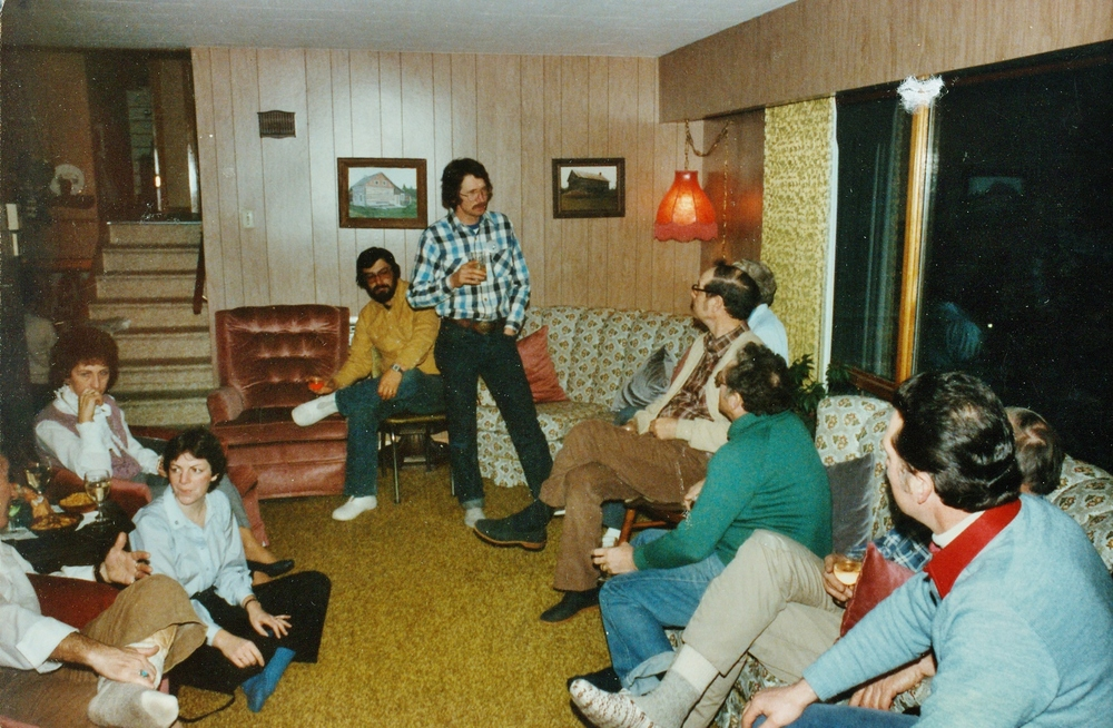 1980's Mushers' Meeting at Vilneff House