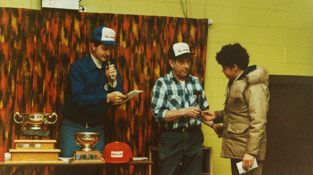 Snofest awards possibly 1984 - Doug Vilneff, Bob Drummond.jpg