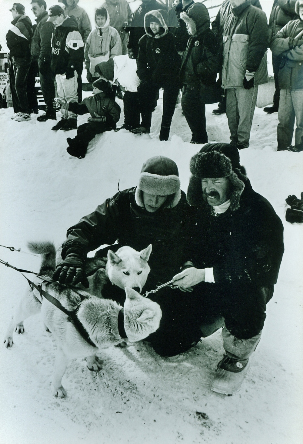 Snofest 1994 KathyHughes & Jim Cunningham, South Colton NY, Marmora Cup competitor