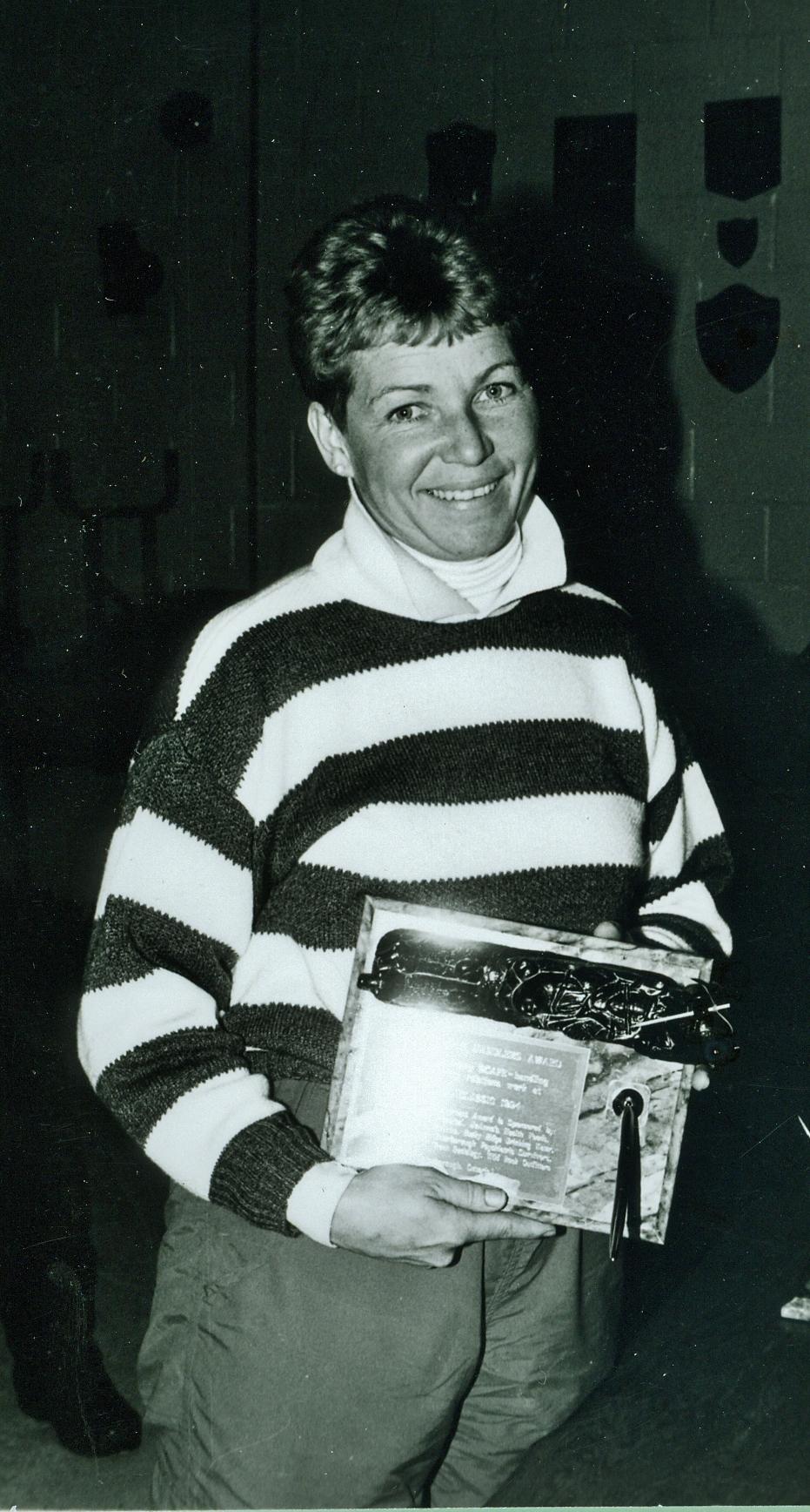 Snofest 1994 Penny Carr-Marsh, Handler's award