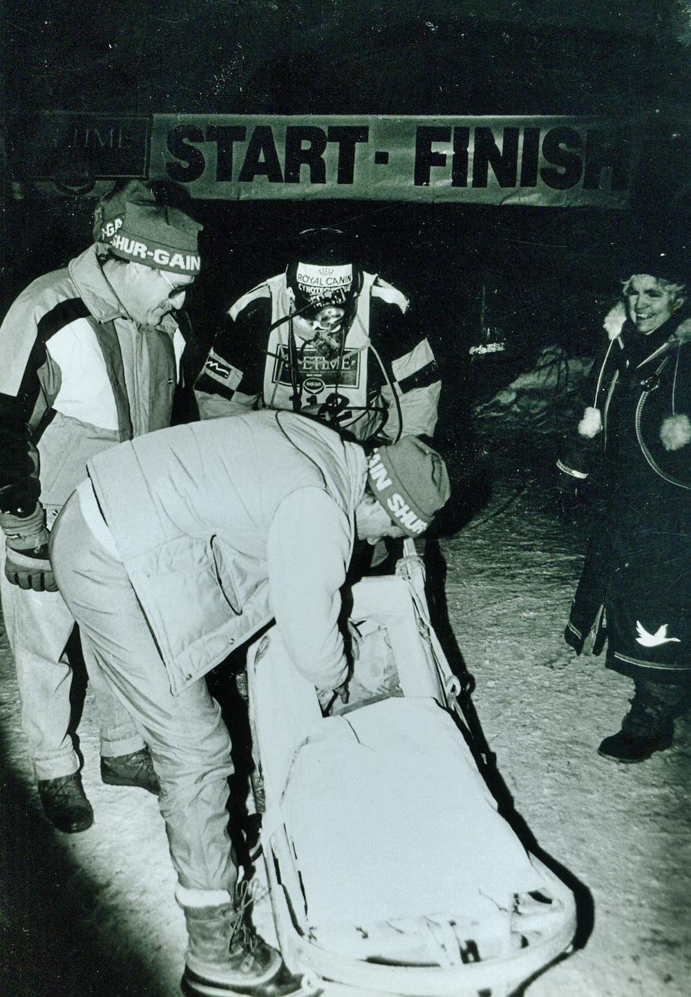 Snofest 1994 Tim McEwen, Marmora Cup Winner (150 miles)