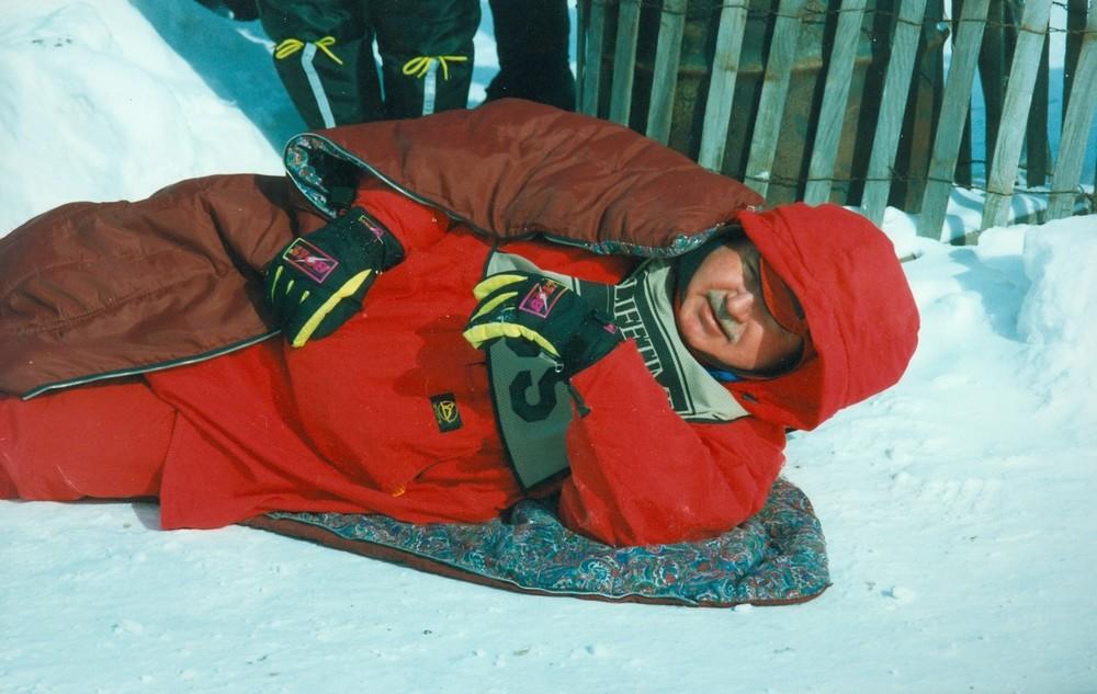 Snofest 1995 Duane Ramsay, Inverary, Ontario(Madcap Race)
