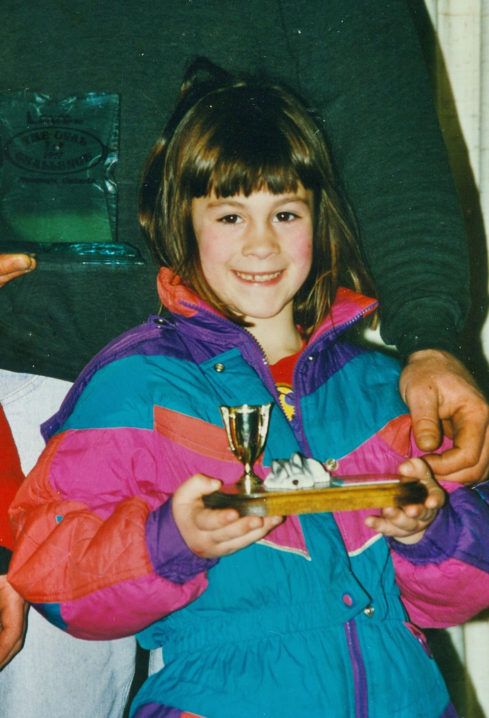 Snofest 1997 Jaclyn Rice,  Saylorsburg, Penn.  Little Nippers First Place winner,  age 7