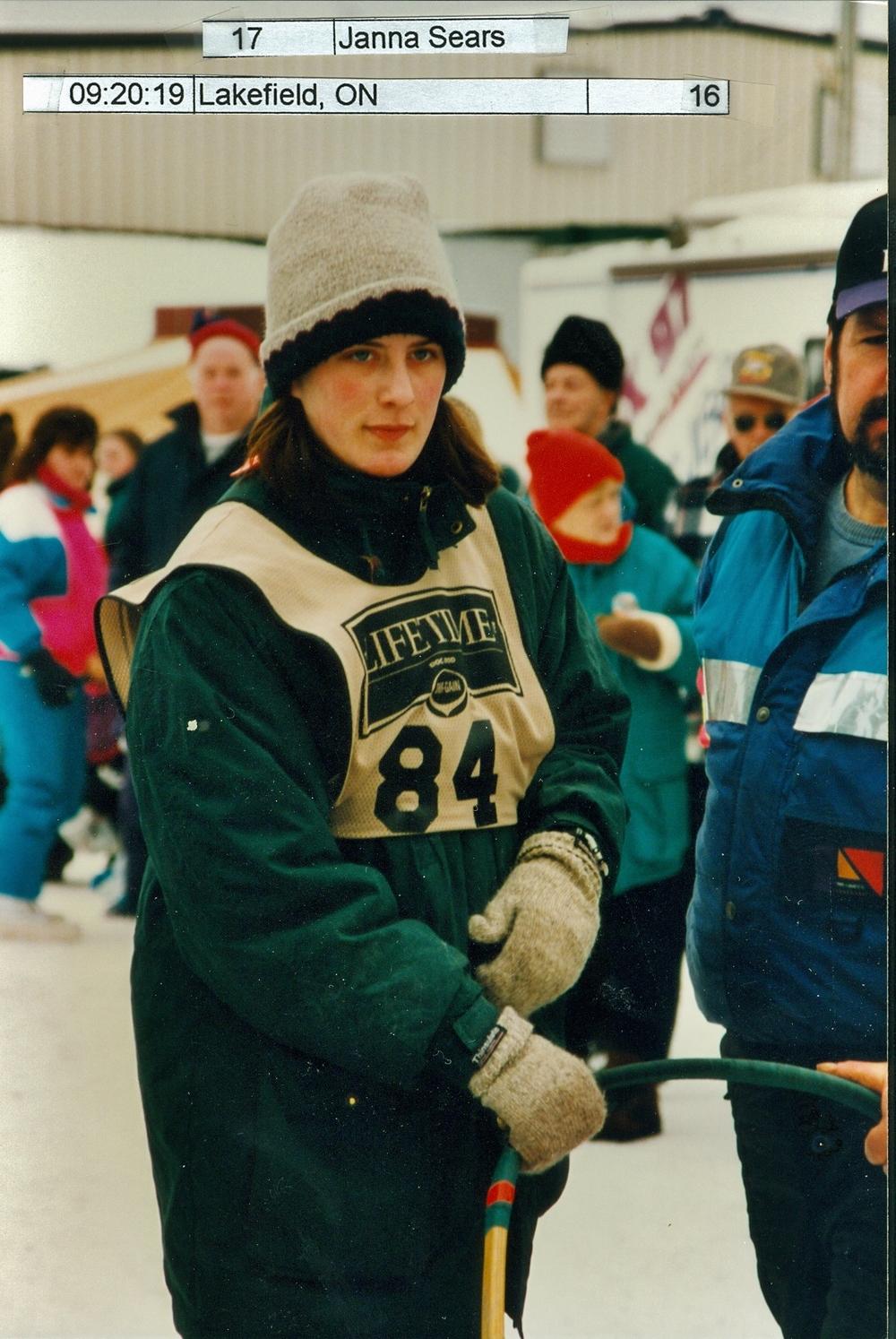 Snofest 1997 Janna Sears, Lakefield
