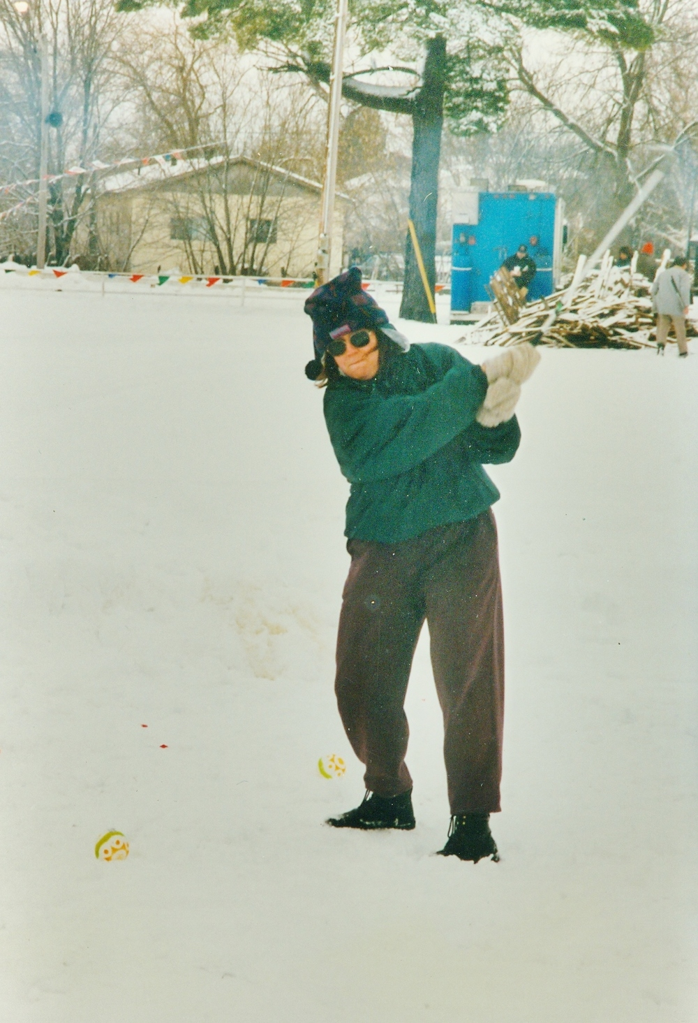 Snofest 1997 Nancy Powers & Sno Golf